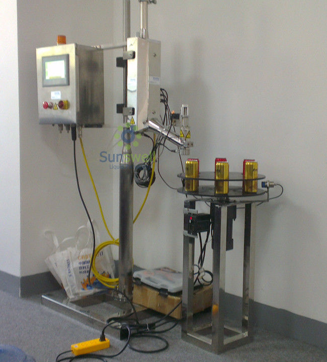 Automatic Linear Liquid Nitrogen Dosing Machine Single-Room Feeding For Liquid