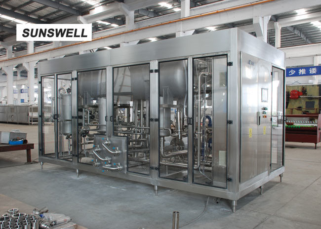 Sunswell Carbonated Beverage Filling Machine For Measuring The Exact Ratio Of Water Flow