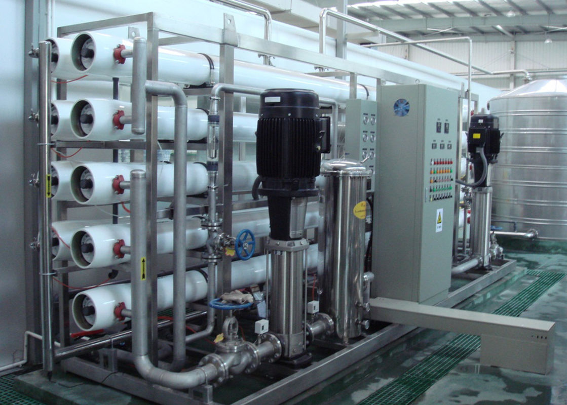 Reliable Ultrafiltration Purification Water Treatment Equipments / Plant Of SS304