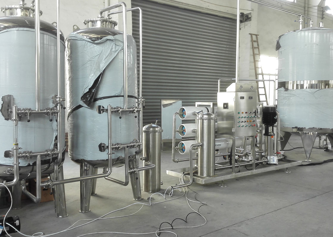 Beverage / Drinking Small Scale Water Purification Plant For Pure Water Treatment