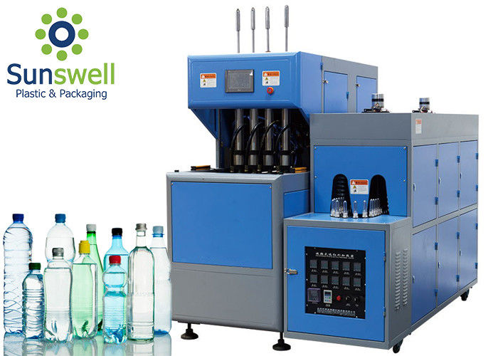 PET Plastic Bottle Extrusion Blow Molding Machine For Mineral Water Pure Water