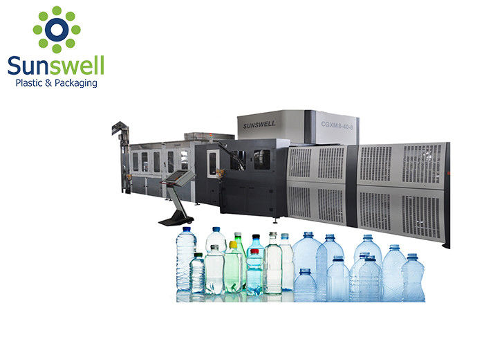 Water Production Juice Production Plastic Bottle Making Machine , Pet Bottle Machine