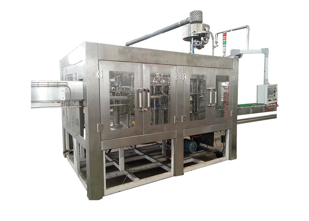 5000BPH - 36000BPH Juice Filling Machine Washing Capping Bottling Packing