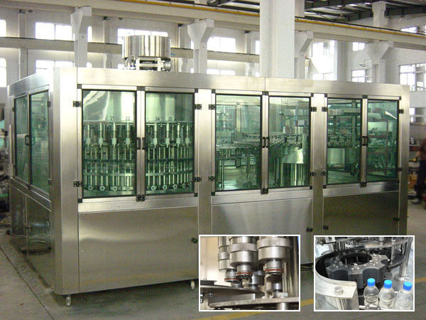 Drinking Pure Water Filling Machines With Rinser 40 / Filler 40 / Capper 10